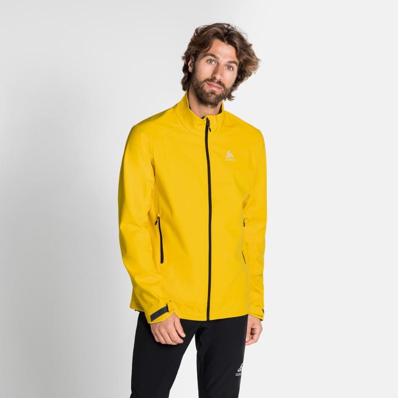 Men's LOLO Softshell Jacket, sulphur, large