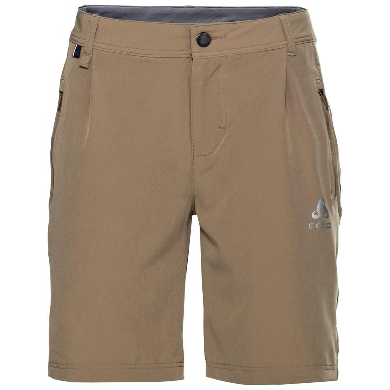 Women's KOYA CERAMICOOL Shorts, lead gray - odlo steel grey, large