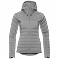 Women's SARA COCOON Insulated Jacket, odlo concrete grey, large