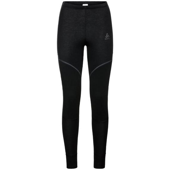 Women's ACTIVE X-WARM Base Layer Pants, black, large