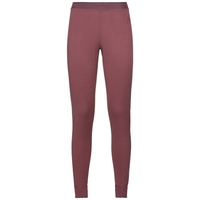 Women's NATURAL 100% MERINO WARM Base Layer Pants, roan rouge, large