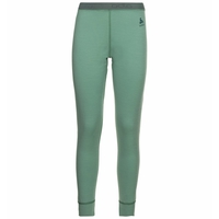 Pantaloni Base Layer NATURAL 100% MERINO WARM da donna, malachite green, large