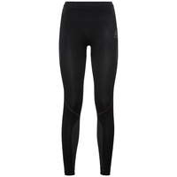 Women's PERFORMANCE EVOLUTION WARM Base Layer Pants, black - odlo graphite grey, large