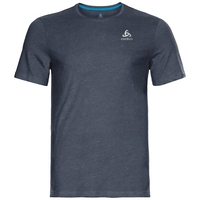 BL Top Crew neck s/s Core, diving navy - placed print FW18, large