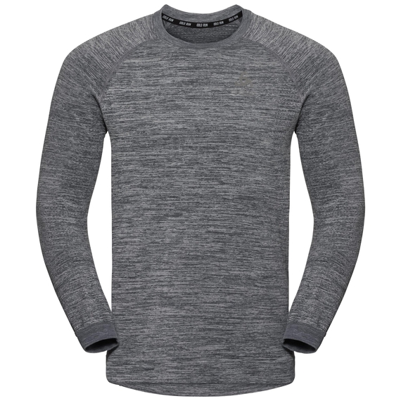 Men's MILLENNIUM YAKWARM Midlayer, odlo silver grey melange, large