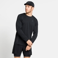 Men's ZEROWEIGHT CHILL-TEC BLACKPACK Long-Sleeve Running T-Shirt, black - blackpack, large
