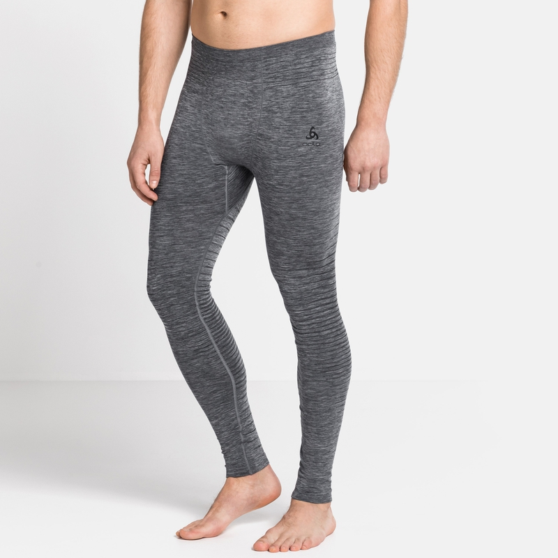 Men's PERFORMANCE LIGHT Base Layer Pants, grey melange, large