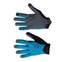 Guanti ACTIVE OFFROAD FF, blue jewel, large