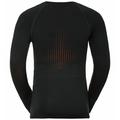 Men's I-THERMIC Baselayer Top, black, large