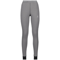 Naadloze onderkleding Broek active Revelstoke Warm, odlo graphite grey - odlo concrete grey, large