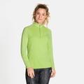 Women's CERAMIWARM ELEMENT Half-Zip Long-Sleeve Mid Layer Top, tomatillo, large