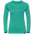 BL TOP Shirt met ronde hals l/s KOYA CERAMIWOOL, pool green, large