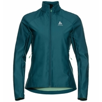 Women's ZEROWEIGHT FUTUREKNIT Jacket, submerged - malachite green, large