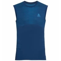 PERFORMANCE LIGHT-basislaagsinglet voor heren, estate blue - blue aster, large