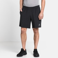 Herren MILLENNIUM ELEMENT Laufshorts, black melange, large