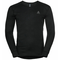Shirt l/s v-neck ACTIVE WARM ECO, black, large