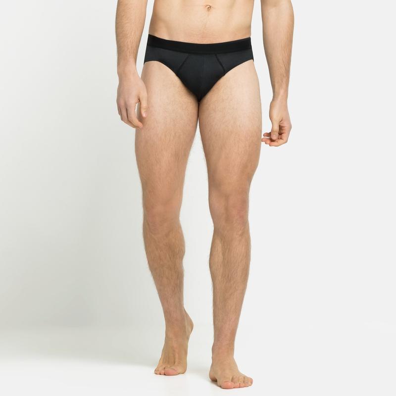 Men's ACTIVE F-DRY LIGHT ECO Briefs, black, large