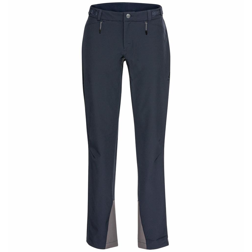 Pantalon VAL GARDENA CERAMIWARM pour femme, dark sapphire, large