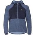 Jacket MILLENNIUM LINENCOOL PRO, blue indigo melange, large