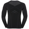 Herren PERFORMANCE EVOLUTION Funktionsunterwäsche Langarm-Shirt, black - odlo graphite grey, large