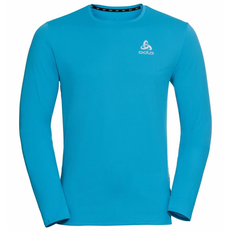 T-shirt de Running à manches longues ZEROWEIGHT CHILL-TEC pour homme, horizon blue, large