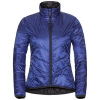 Jacket ATMOOS Innerjacket, clematis blue - odlo graphite grey, large