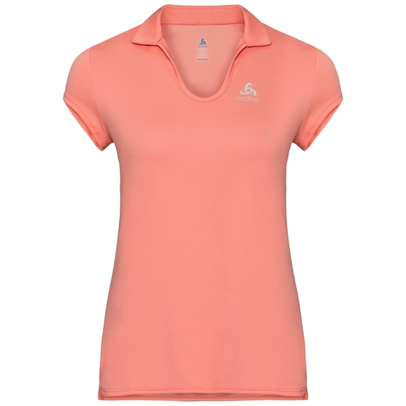 KUMANO LIGHT Poloshirt, coral haze, large