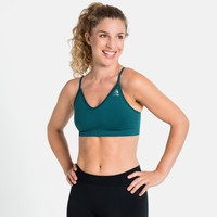 SEAMLESS SOFT Sports Bra, submerged - grey melange, large