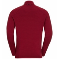 Men's VIVID CERAMIWARM Midlayer, rio red, large