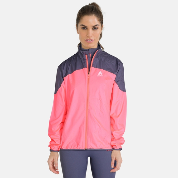 Veste ELEMENT LIGHT pour femme, diva pink - odyssey gray, large