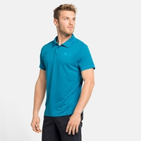 Men's NIKKO DRY Polo Shirt, mykonos blue - horizon blue, large
