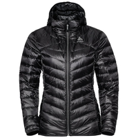 AIR COCOON Kapuzenjacke, black, large