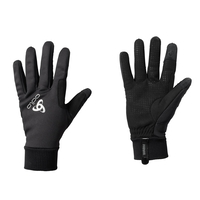 WINDPROOF Warm Handschuhe, black, large