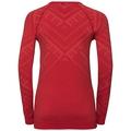 Sous-vêtement technique T-shirt manches longues NATURAL + KINSHIP WARM pour femme, baked apple melange, large