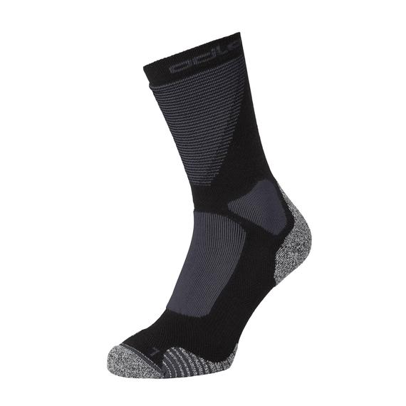 CERAMIWARM FXC Crew Socken, black - odlo graphite grey, large