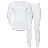 PERFORMANCE EVOLUTION WARM-basislaagset voor heren, white, large