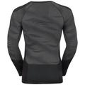 Sous-vêtement technique T-shirt manches longues BLACKCOMB pour homme, black - odlo concrete grey - silver, large