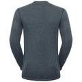 Active Originals Warm langärmeliges Shirt mit Rundhalsausschnitt, grey melange, large