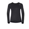 CUBIC Baselayer Shirt longsleeved, ebony grey - black, large