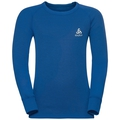 ACTIVE WARM KIDS Long-Sleeve Base Layer Top, energy blue, large