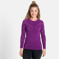 Damen NATURAL + KINSHIP WARM Baselayer-Top, charisma melange, large