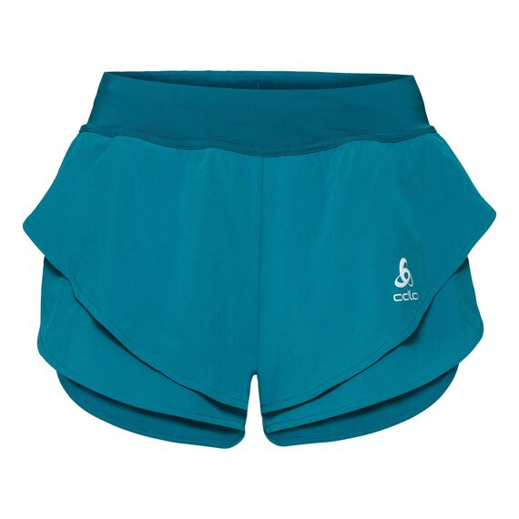 Split shorts OMNIUS Light, crystal teal, large