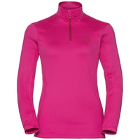 Midlayer 1/2 zip STEEZE, beetroot purple, large