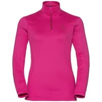 Women's STEEZE 1/2 Zip Midlayer, beetroot purple, large