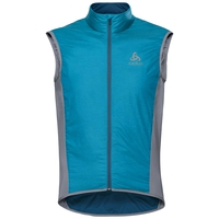Bodywarmer ZEROWEIGHT X-Warm, blue jewel - poseidon, large