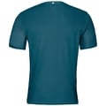 BL Top Crew neck s/s OMNIUS Light, deep lagoon - black, large