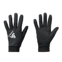 STRETCHFLEECE LINER WARM Handschuhe, black, large