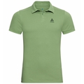 Men's NEW TRIM Polo Shirt, green eyes, large