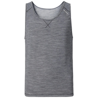 REVOLUTION LIGHT Baselayer Singlet, grey melange, large