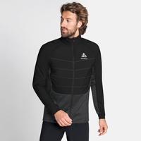Men's MILLENNIUM S-THERMIC Running Jacket, black, large